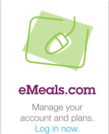 eMeals.com - Manage your account and plans. Log in now.
