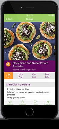 Vegetarian App View