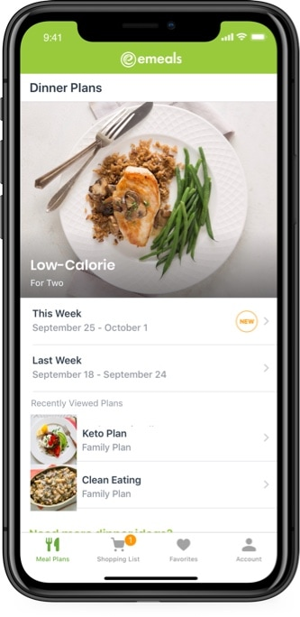 Weekly Low Calorie Diet Meal Plans By Emeals
