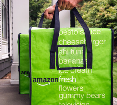 Amazon Fresh Bags Delivered