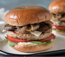 Turkey Patty Melt Burgers