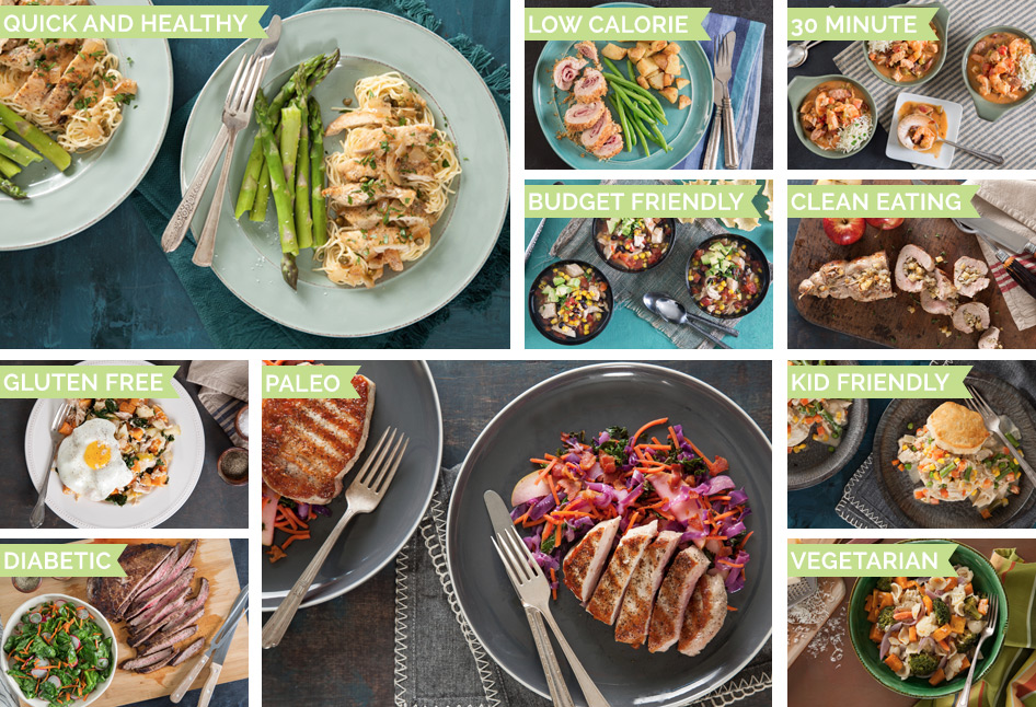 Variety of Meal Plans by eMeals