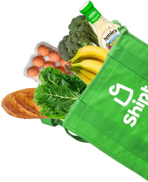 Shipt Grocery Bag Cutout with eMeals