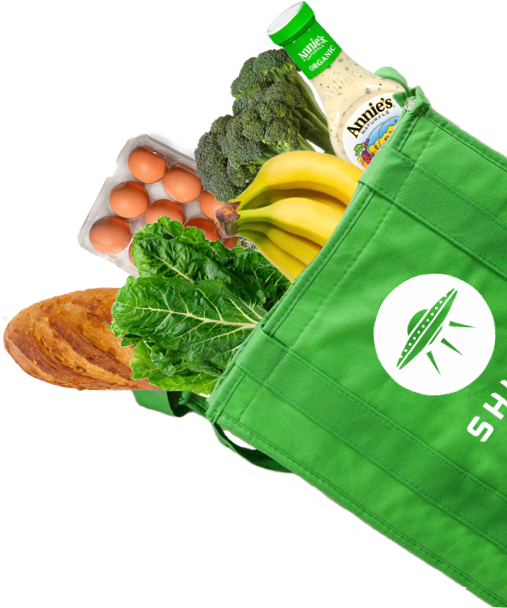 Shipt Food Bag Cutout