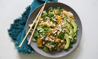Crunchy Asian Salad (1-dish meal)
