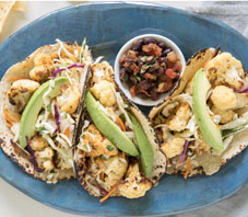 Roasted Cauliflower Tacos