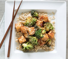 General Tsos Tofu Broccoli
