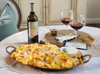 Parmesan-Black Pepper Truffle Potato Chips